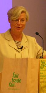 Evelin Herfkens, UN coordinator for the Millennium Development Goals Campaign