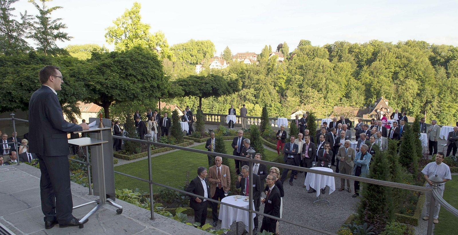 40 Jahre Schweizerische Informatikkonferenz, Erlacherhof, 25. Juni 2015