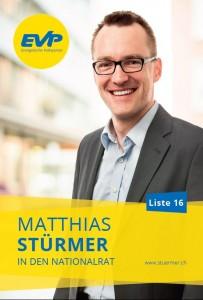 Matthias Stürmer in den Nationalrat