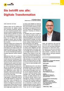 tcbe.ch Focus 2016 Editorial von Matthias Stürmer